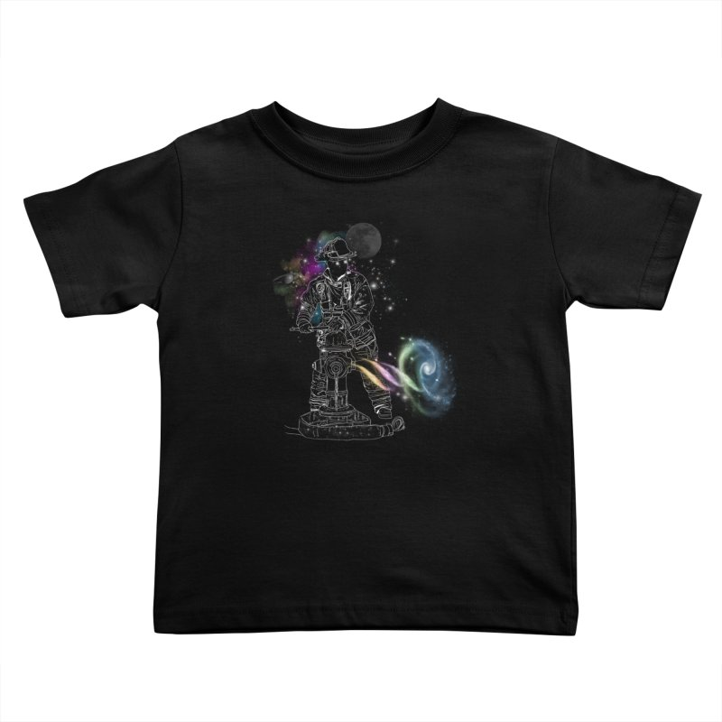Space man Kids Toddler T-Shirt by jackduarte's Artist Shop