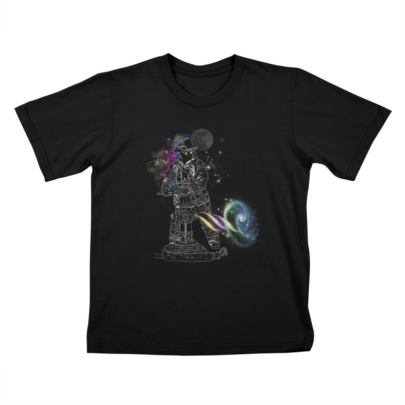 Space man Kids T-Shirt by jackduarte's Artist Shop