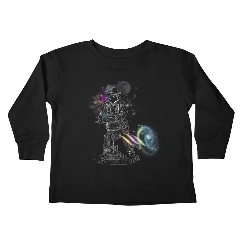Space man Kids Toddler Longsleeve T-Shirt by jackduarte's Artist Shop