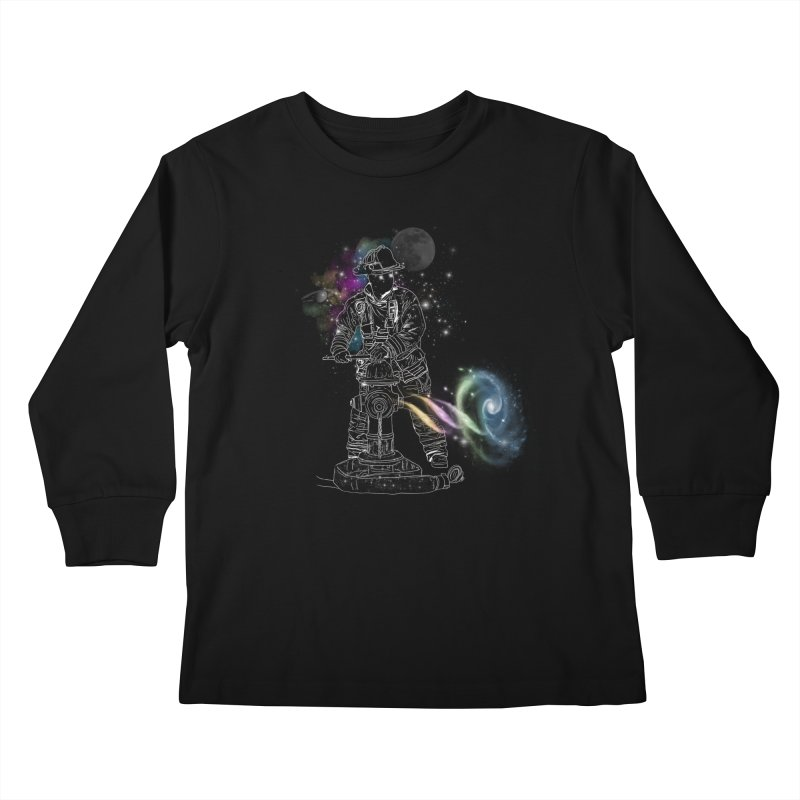 Space man Kids Longsleeve T-Shirt by jackduarte's Artist Shop
