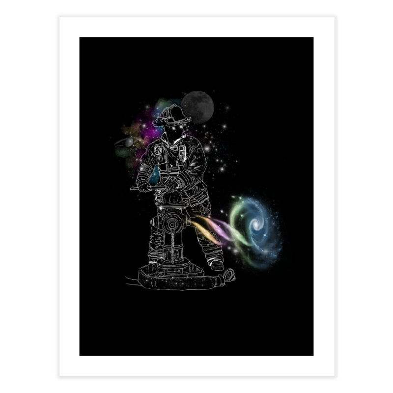 Space man Home Fine Art Print by jackduarte's Artist Shop