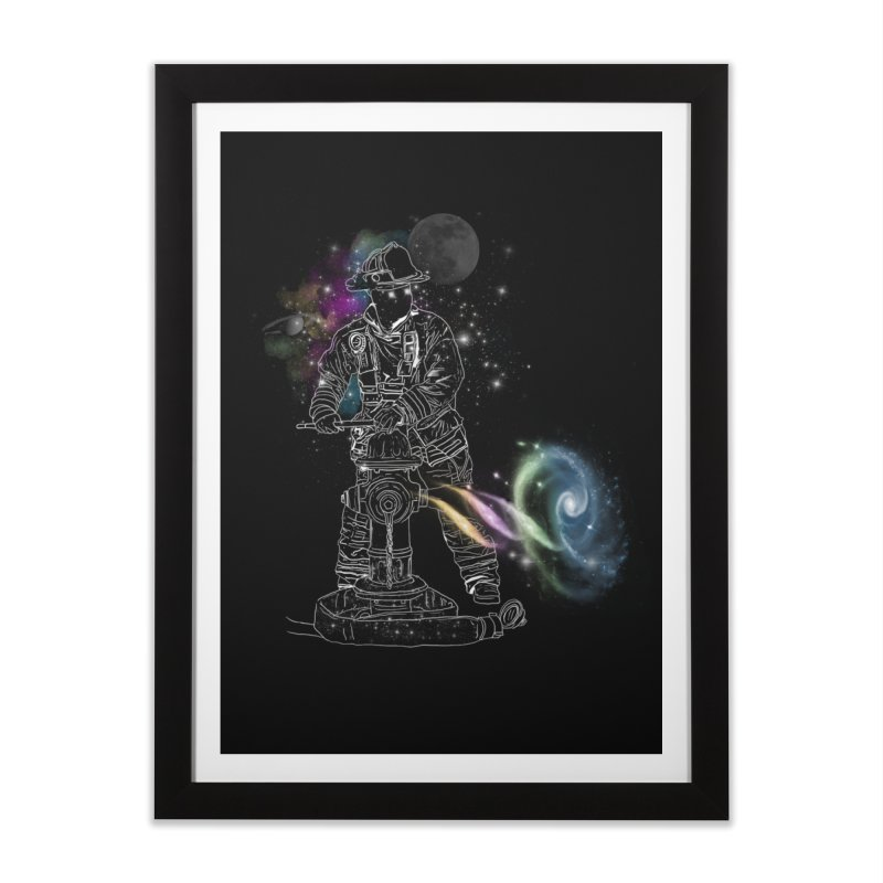 Space man Home Framed Fine Art Print by jackduarte's Artist Shop