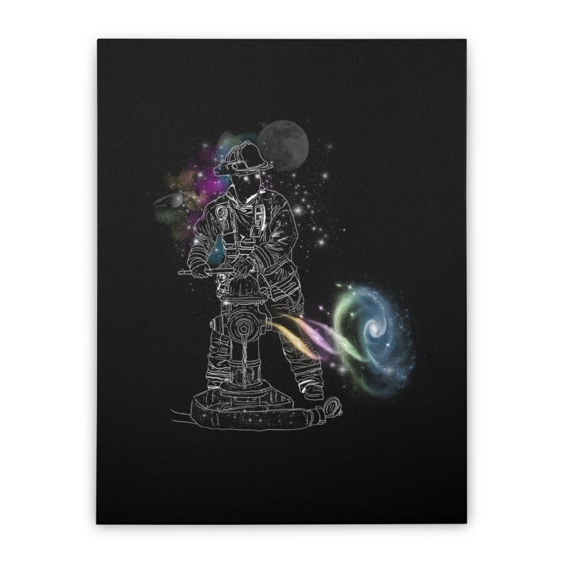 Space man Home Stretched Canvas by jackduarte's Artist Shop