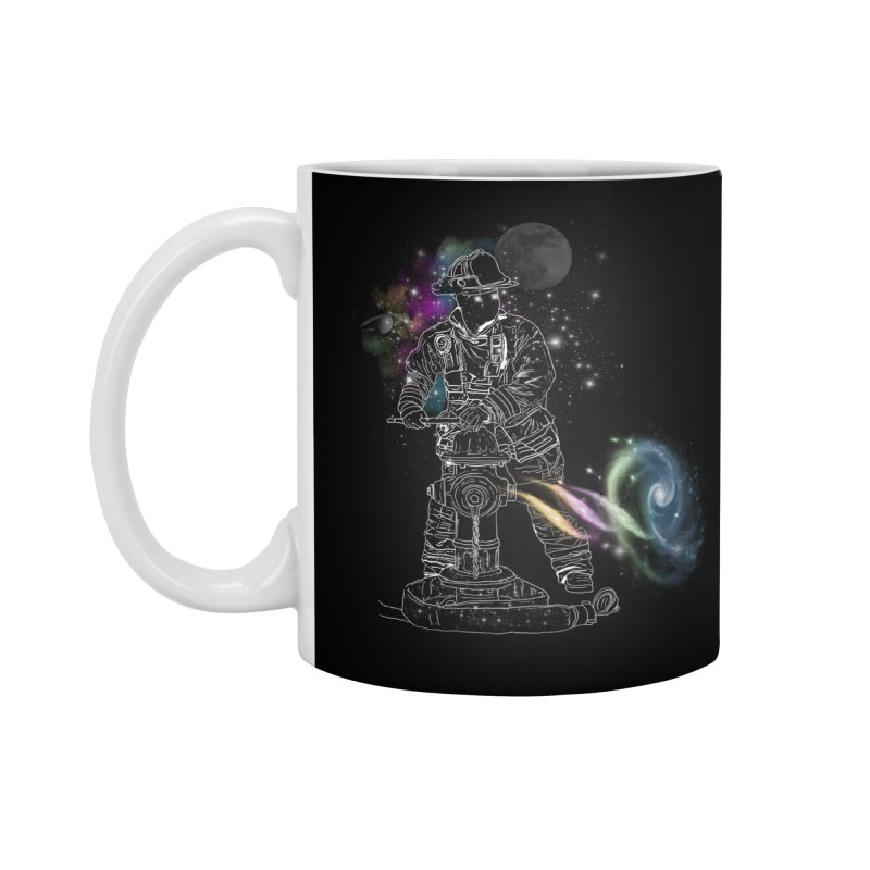 Space man Accessories Standard Mug by jackduarte's Artist Shop