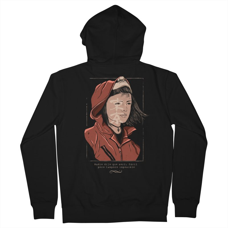 Tokyo Women's French Terry Zip-Up Hoody by jackduarte's Artist Shop