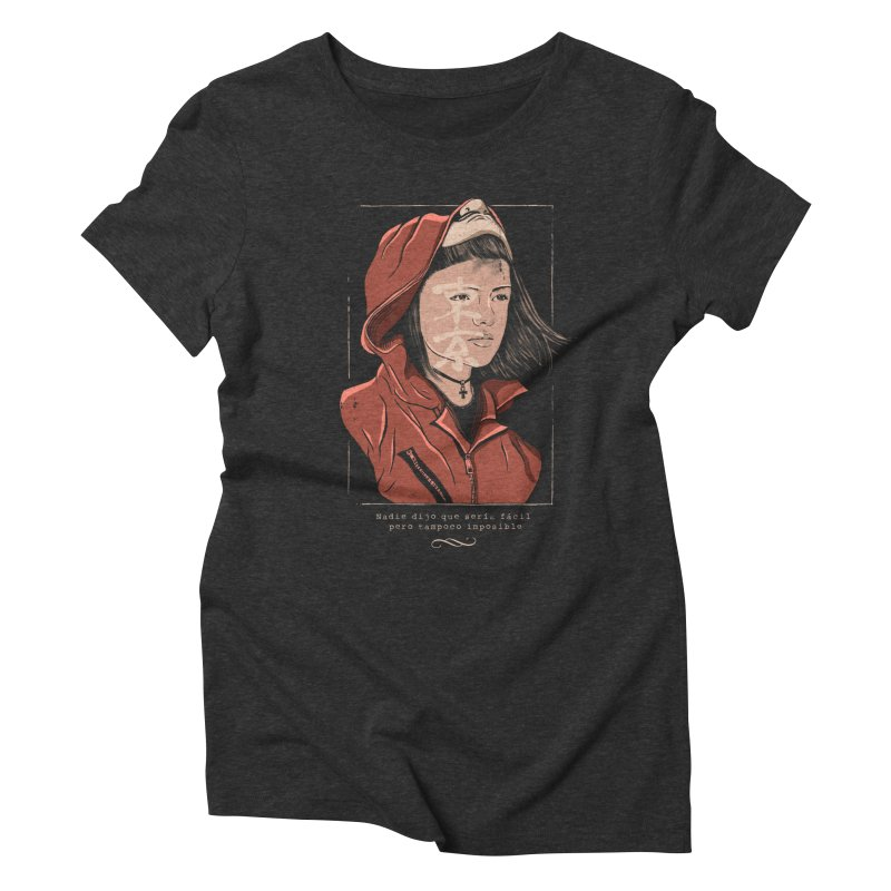 Tokyo Women's Triblend T-Shirt by jackduarte's Artist Shop