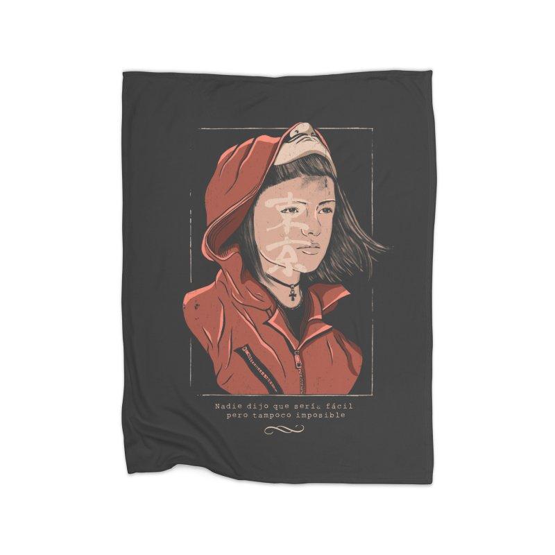 Tokyo Home Fleece Blanket Blanket by jackduarte's Artist Shop