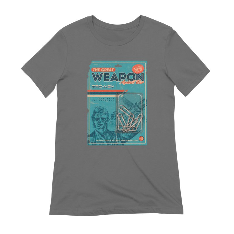 Great weapon Women's Extra Soft T-Shirt by jackduarte's Artist Shop