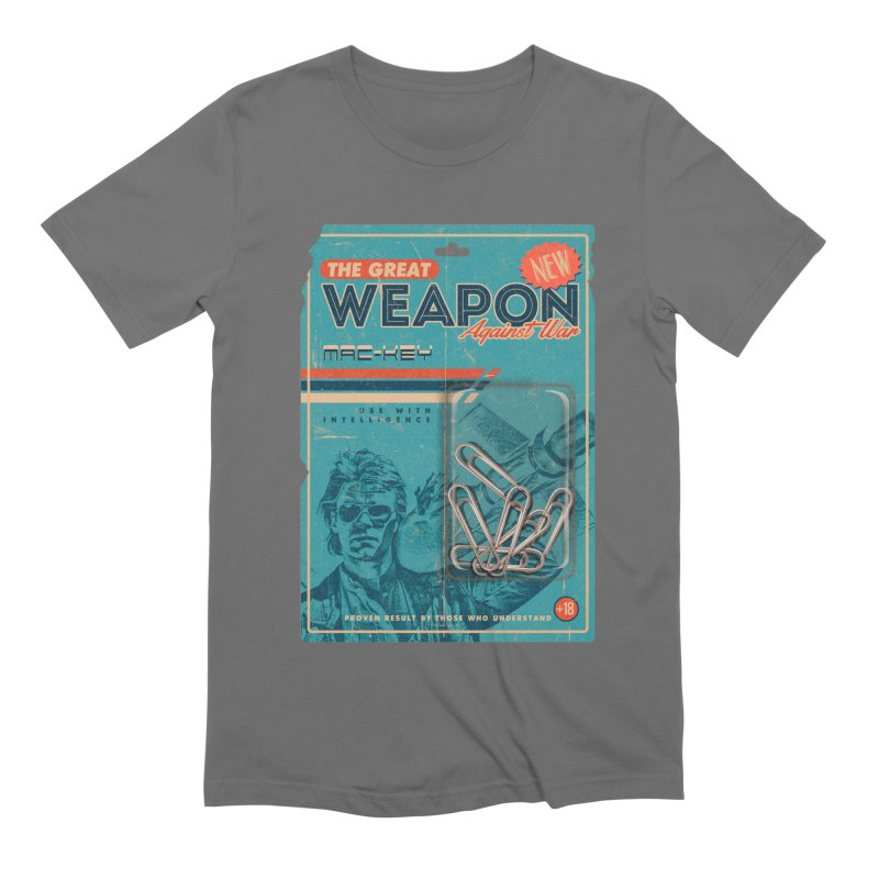 Great weapon Men's Extra Soft T-Shirt by jackduarte's Artist Shop