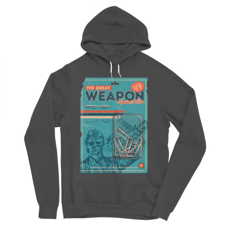 Great weapon Women's Sponge Fleece Pullover Hoody by jackduarte's Artist Shop