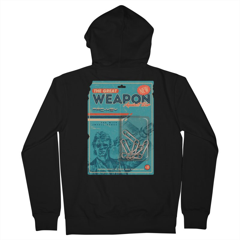 Great weapon Men's Zip-Up Hoody by jackduarte's Artist Shop