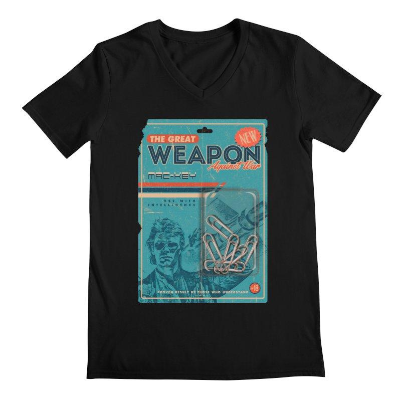 Great weapon Men's V-Neck by jackduarte's Artist Shop