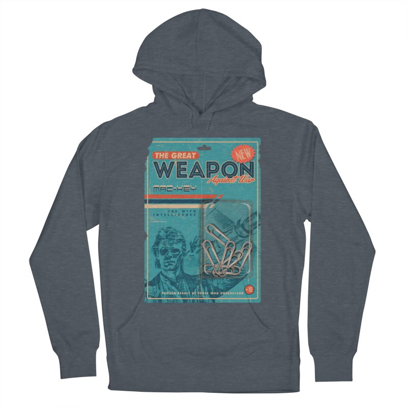 Great weapon Women's French Terry Pullover Hoody by jackduarte's Artist Shop