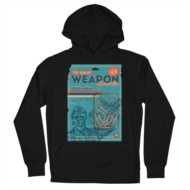Great weapon Men's French Terry Pullover Hoody by jackduarte's Artist Shop