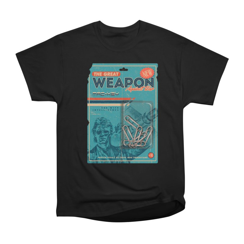 Great weapon Men's Heavyweight T-Shirt by jackduarte's Artist Shop