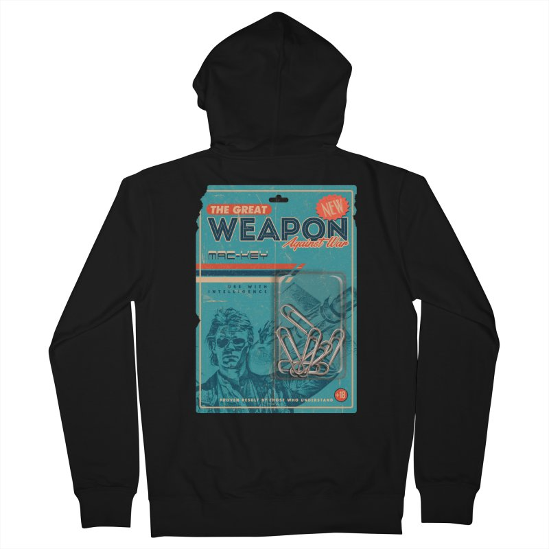 Great weapon Men's French Terry Zip-Up Hoody by jackduarte's Artist Shop