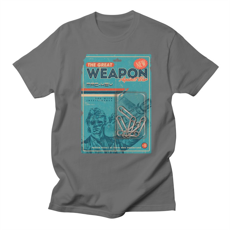 Great weapon Women's Regular Unisex T-Shirt by jackduarte's Artist Shop