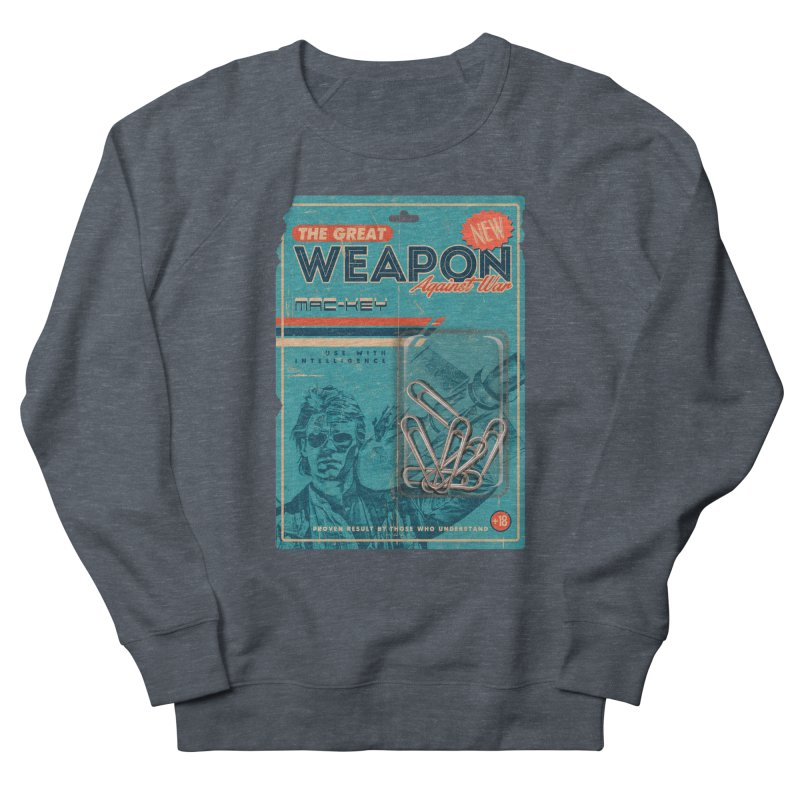 Great weapon Women's French Terry Sweatshirt by jackduarte's Artist Shop