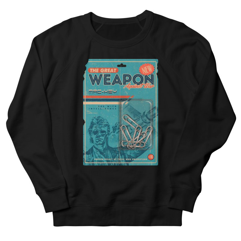 Great weapon Men's French Terry Sweatshirt by jackduarte's Artist Shop