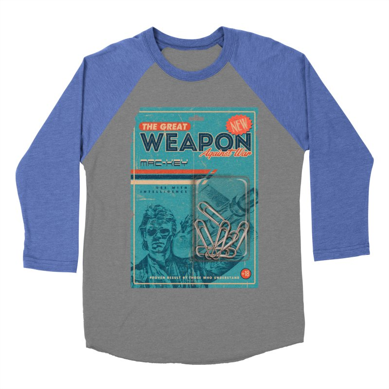 Great weapon Women's Baseball Triblend Longsleeve T-Shirt by jackduarte's Artist Shop