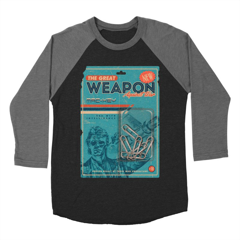 Great weapon Men's Baseball Triblend Longsleeve T-Shirt by jackduarte's Artist Shop