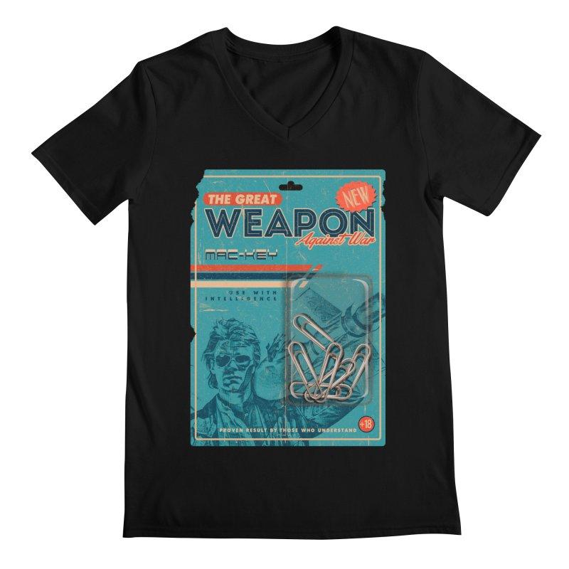 Great weapon Men's Regular V-Neck by jackduarte's Artist Shop