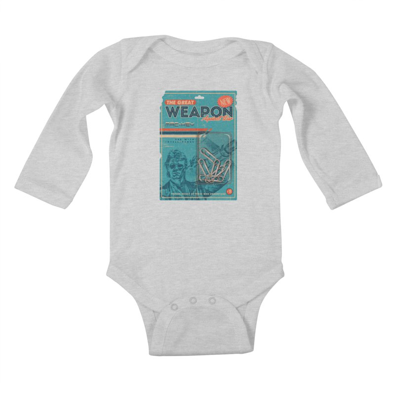Great weapon Kids Baby Longsleeve Bodysuit by jackduarte's Artist Shop