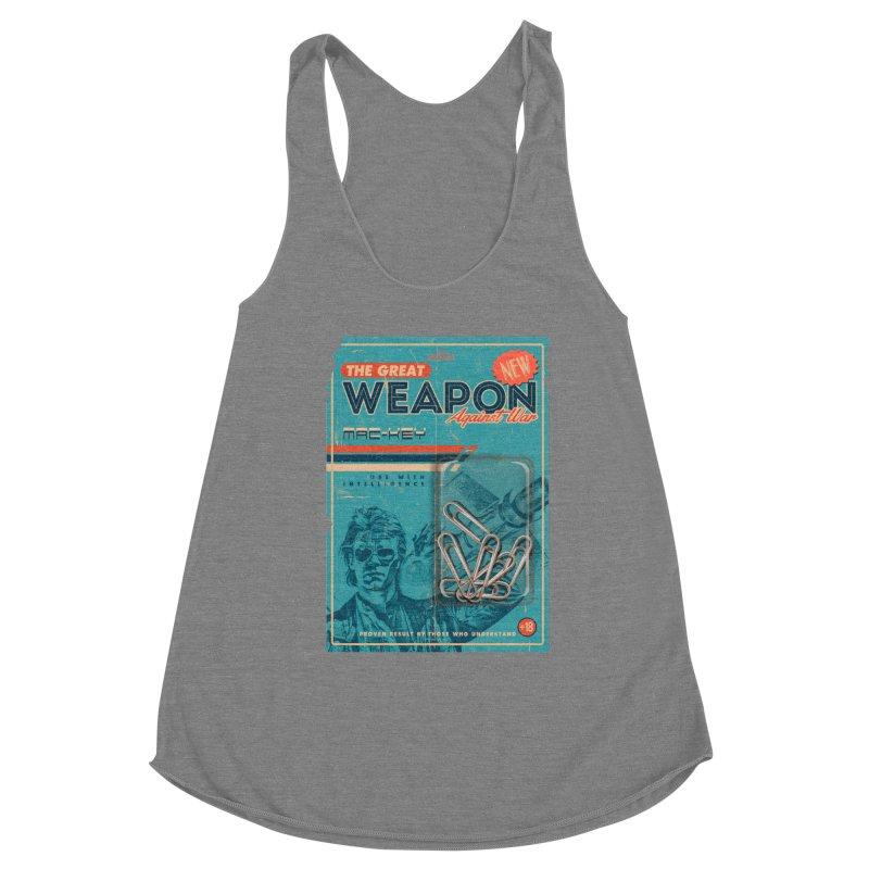 Great weapon Women's Tank by jackduarte's Artist Shop