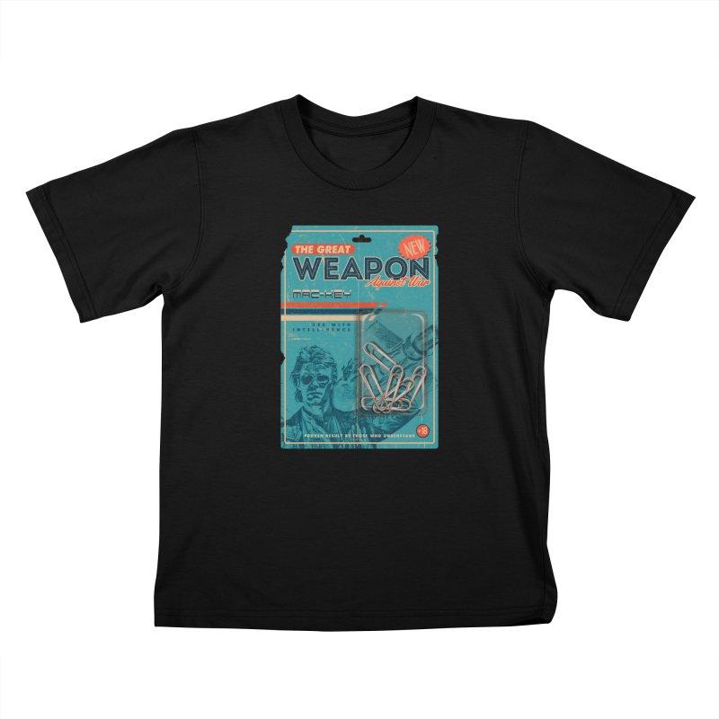 Great weapon Kids T-Shirt by jackduarte's Artist Shop