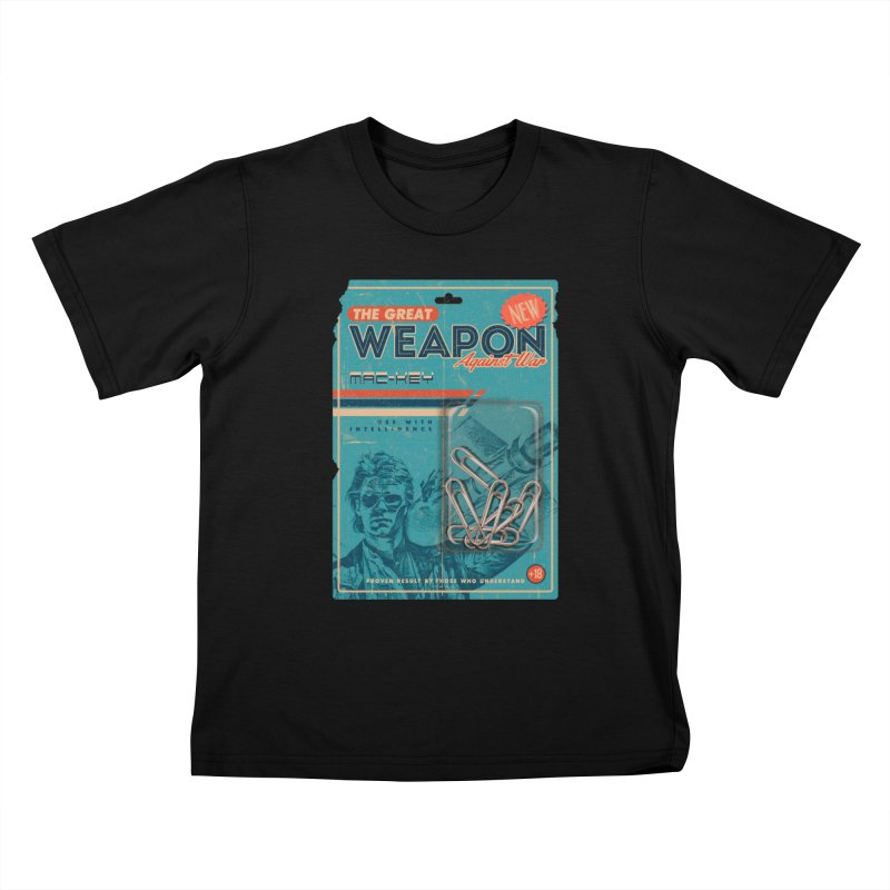 Great weapon Kids T-Shirt by jackduarte's Artist Shop