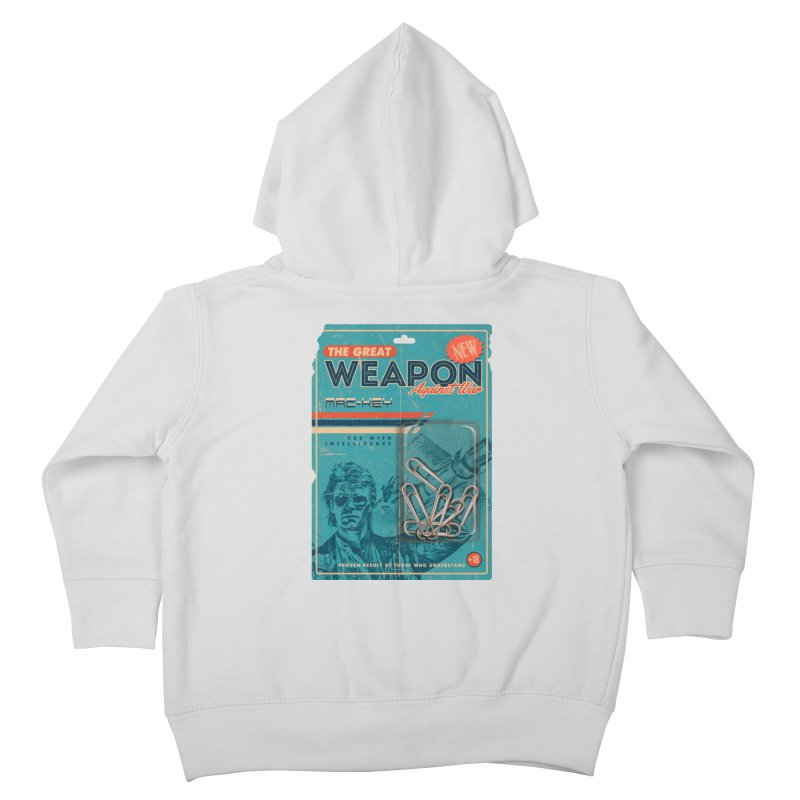 Great weapon Kids Toddler Zip-Up Hoody by jackduarte's Artist Shop