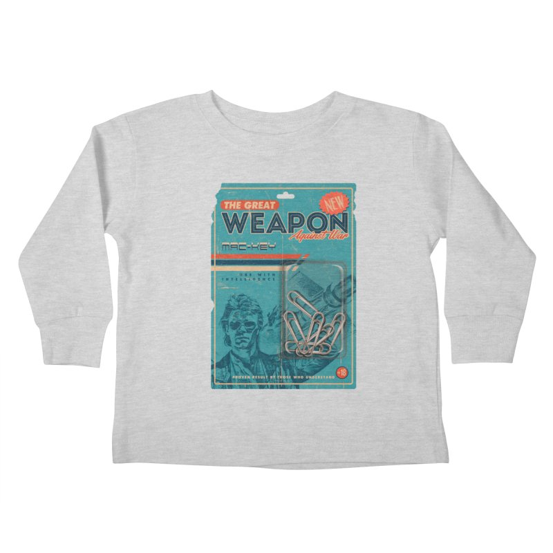 Great weapon Kids Toddler Longsleeve T-Shirt by jackduarte's Artist Shop