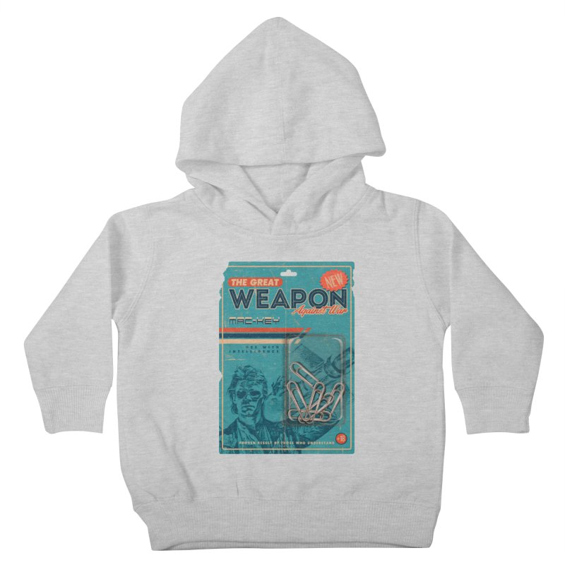 Great weapon Kids Toddler Pullover Hoody by jackduarte's Artist Shop