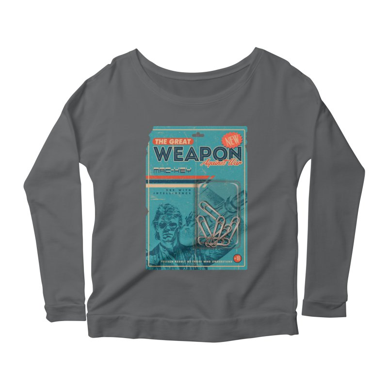 Great weapon Women's Scoop Neck Longsleeve T-Shirt by jackduarte's Artist Shop