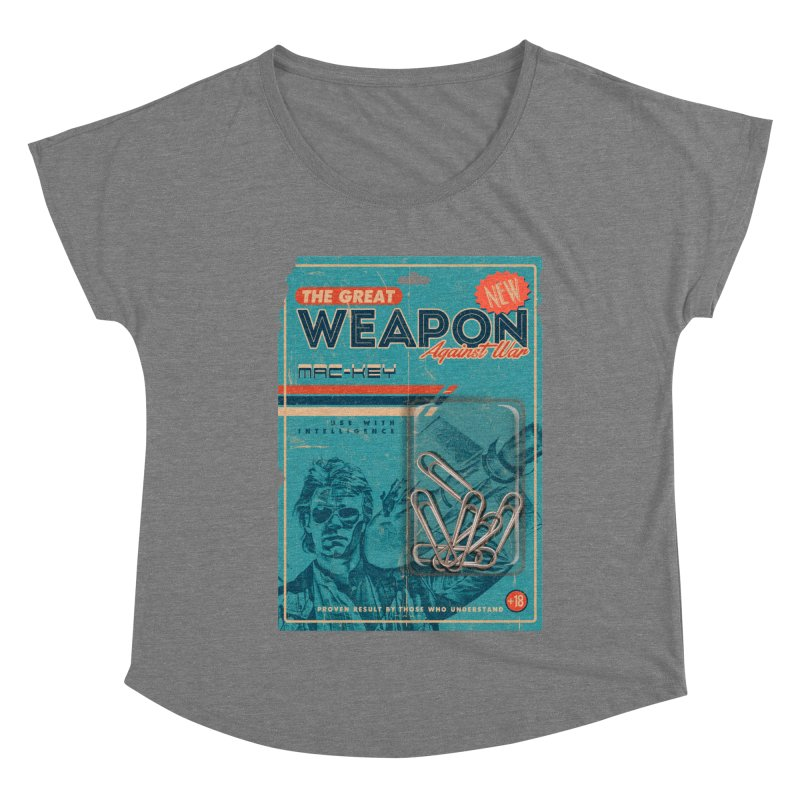 Great weapon Women's Scoop Neck by jackduarte's Artist Shop
