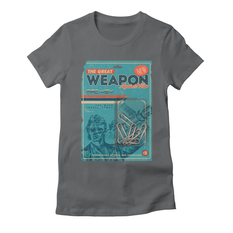 Great weapon Women's Fitted T-Shirt by jackduarte's Artist Shop