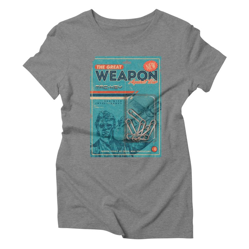 Great weapon Women's Triblend T-Shirt by jackduarte's Artist Shop