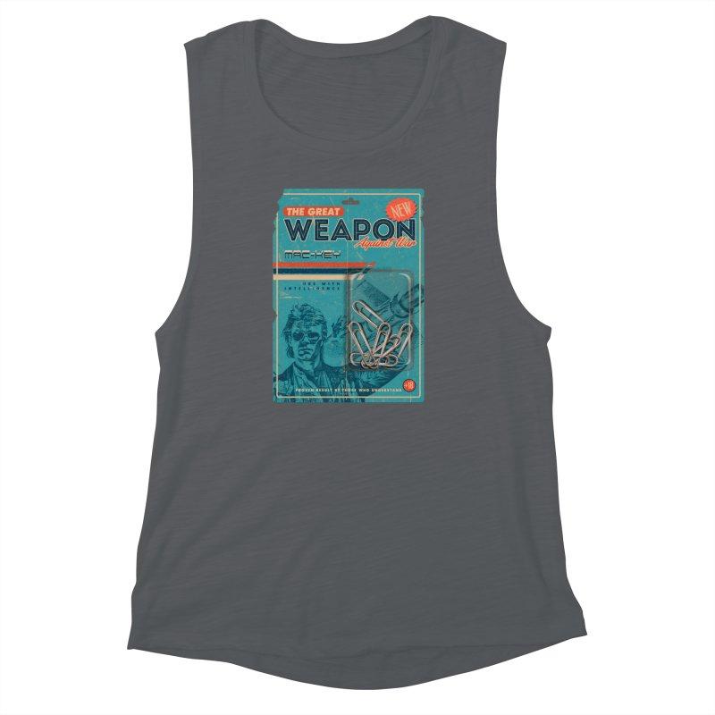 Great weapon Women's Muscle Tank by jackduarte's Artist Shop