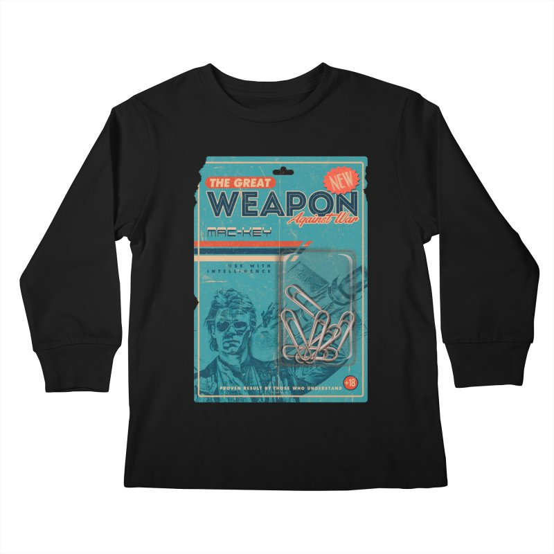 Great weapon Kids Longsleeve T-Shirt by jackduarte's Artist Shop