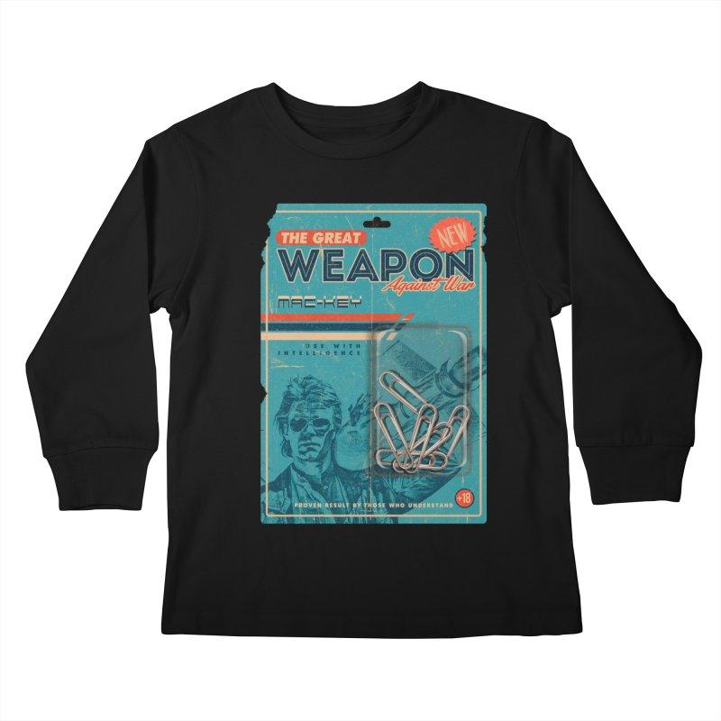 Great weapon Kids Longsleeve T-Shirt by jackduarte's Artist Shop