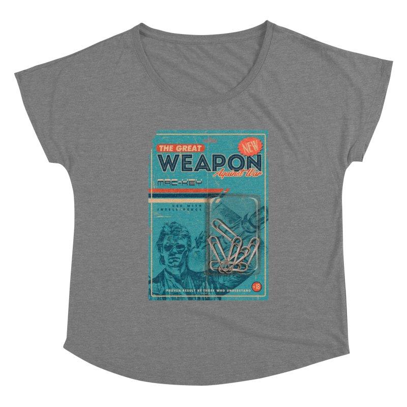Great weapon Women's Scoop Neck by jackduarte's Artist Shop