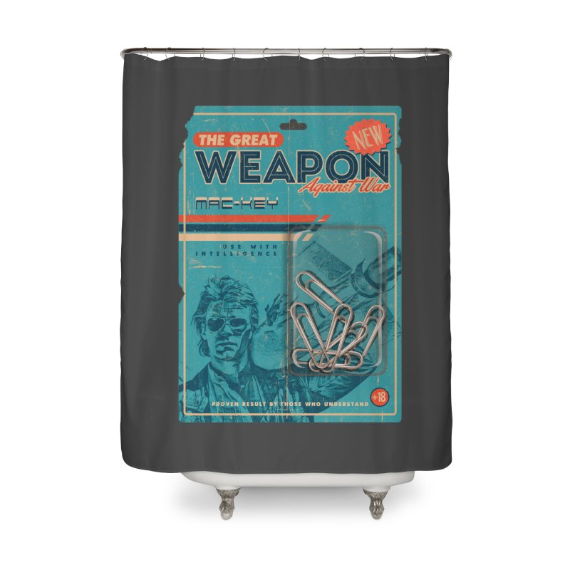 Great weapon Home Shower Curtain by jackduarte's Artist Shop