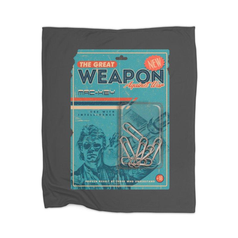 Great weapon Home Blanket by jackduarte's Artist Shop