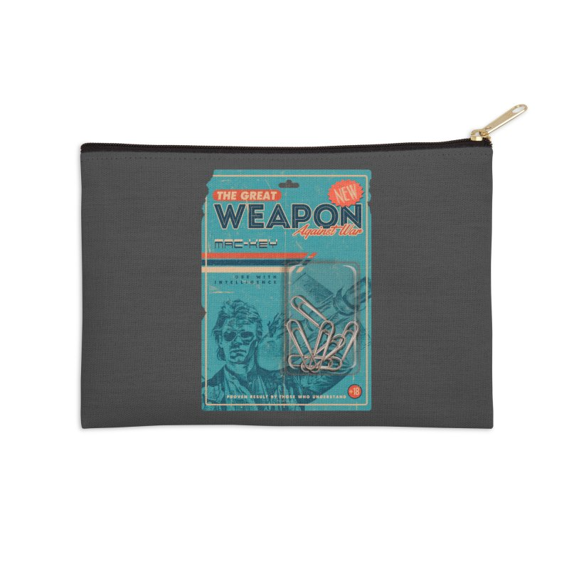 Great weapon Accessories Zip Pouch by jackduarte's Artist Shop