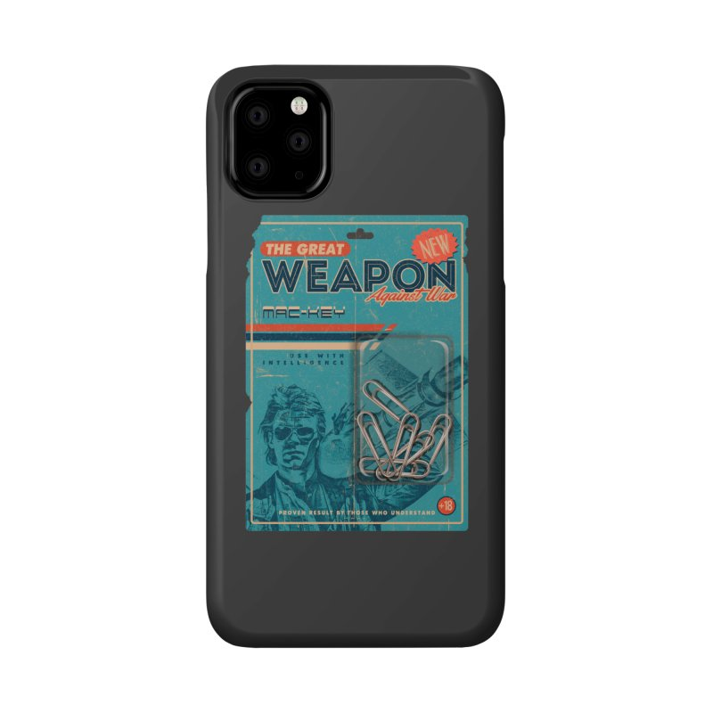 Great weapon Accessories Phone Case by jackduarte's Artist Shop