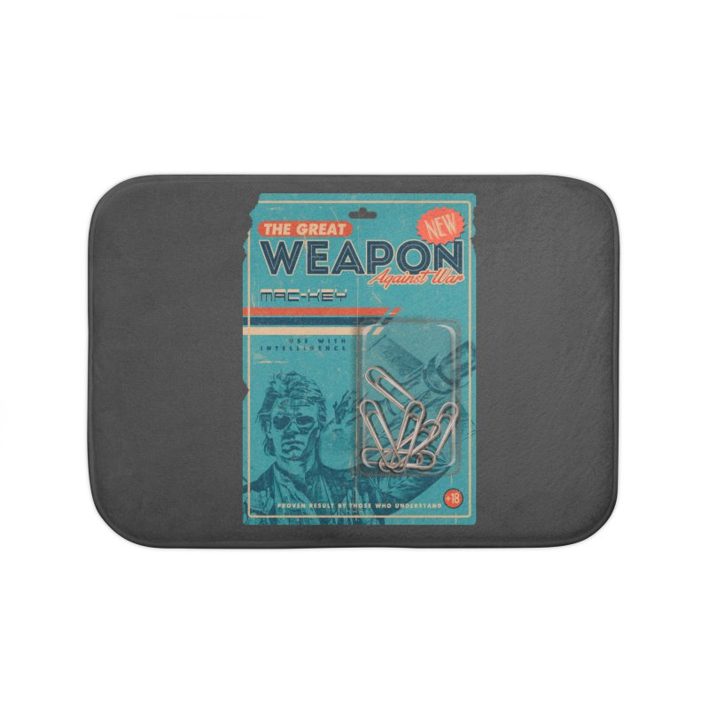 Great weapon Home Bath Mat by jackduarte's Artist Shop