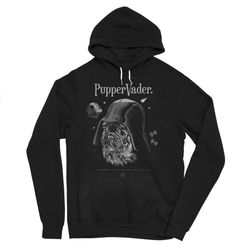 Pupper vader Men's Pullover Hoody by jackduarte's Artist Shop