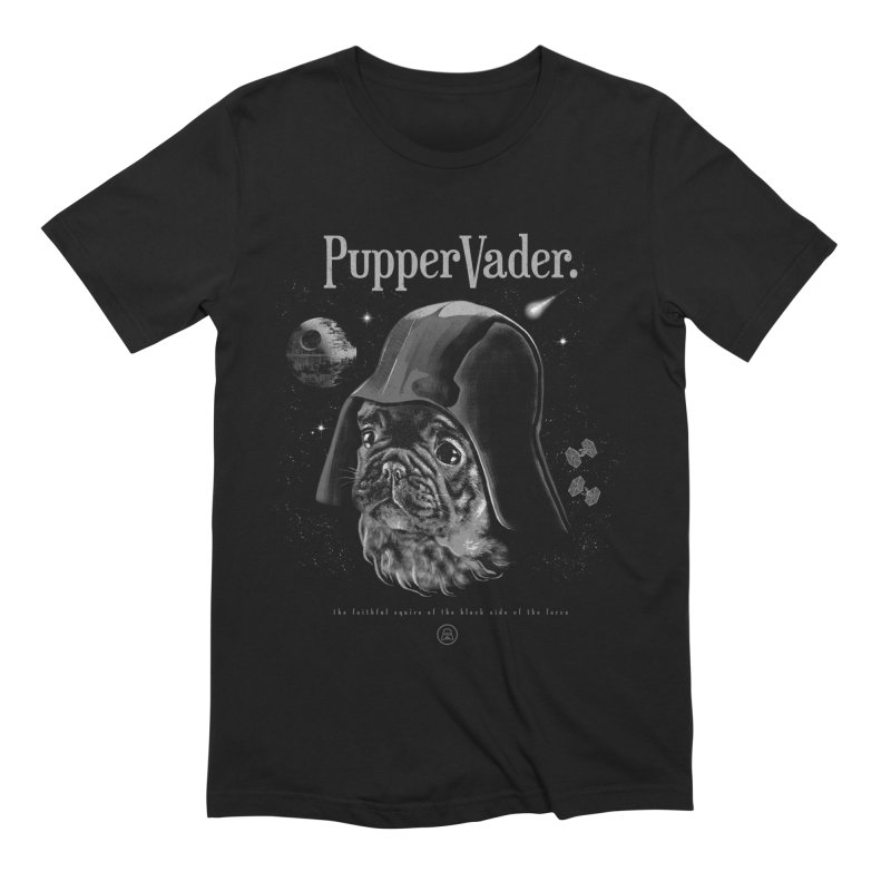 Pupper vader Men's Extra Soft T-Shirt by jackduarte's Artist Shop