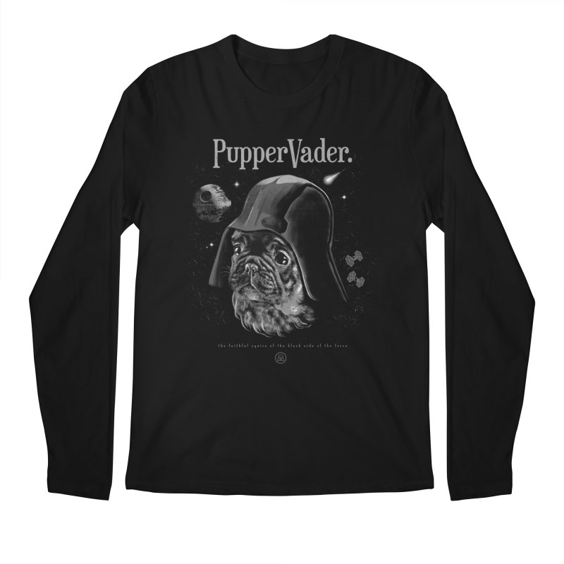 Pupper vader Men's Longsleeve T-Shirt by jackduarte's Artist Shop
