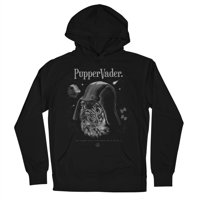 Pupper vader Men's French Terry Pullover Hoody by jackduarte's Artist Shop